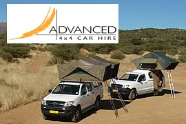 Advanced Car Hire, Wohnmobile & 4x4 Camping in Windhoek