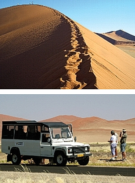 Namib Naukluft Nationalpark in Namibia