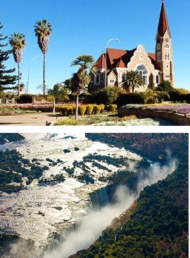 Windhoek, Maun, Moremi National Park, Chobe Nationalpark & Victoriafälle