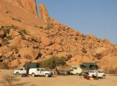 Africa Adventure Travel, Camping an der Spitzkoppe in Namibia