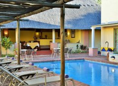Pool im Amadeus Garden Guesthouse in Victoria Falls