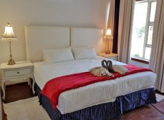 Doppelzimmer in der Dream Beach Self Catering Lodge