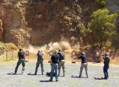 False Bay Firearm Training Academy, Kapstadt, Südafrika