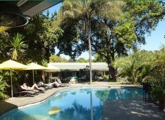 Fawlty Towers Lodge Unterkunft in Livingstone, Sambia