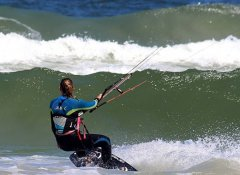 Kite-Boarding mit J-Bay Wind in Jeffreys Bay