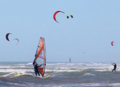 Windsurfen mith J-Bay Wind in Jeffreys Bay