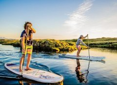 SUP Stand-Up-Paddling mit J-Bay Wind in Jeffreys Bay