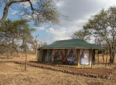 Luxuriöses Afrika-Camp auf Mauly Tours & Safaris