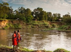 Sentinel Mara Camp am Fluss Mara und Lodge in Kenia