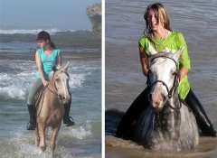 Spannende 3 Sisters Horse Trails in Port Alfred