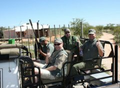 Thuru Lodge & Hunting, Jagen in der Kalahari, Nordkap