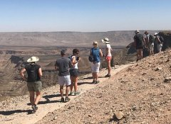 Wandern am Fish River Canyon mit Wild Dog Safaris