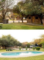 Woodlands Stop Over's Chalets und Camping in Francistown