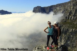 Hike Table Mountain in Kapstadt